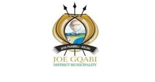 Joe Gqabi district Municipality Careers Jobs Vacancies Internships
